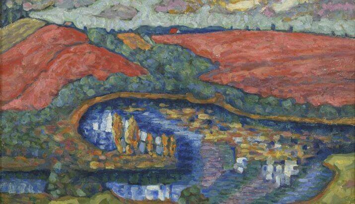 Museo 900 firenze in mostra la pittura estone artepi for Mostre pittura 2017