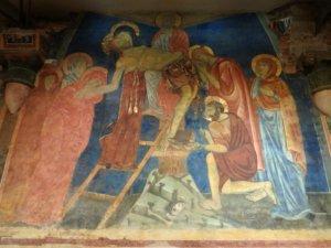 affreschi cripta duomo siena