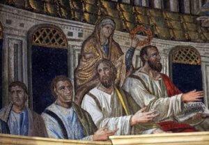 Basilica Santa Pudenziana Roma Apostoli