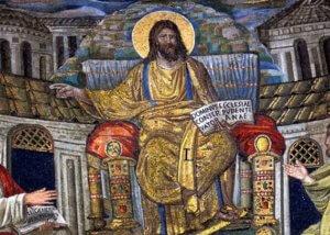 Basilica Santa Pudenziana Roma Cristo Pantocrator