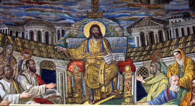 Basilica Santa Pudenziana Roma Mosaico