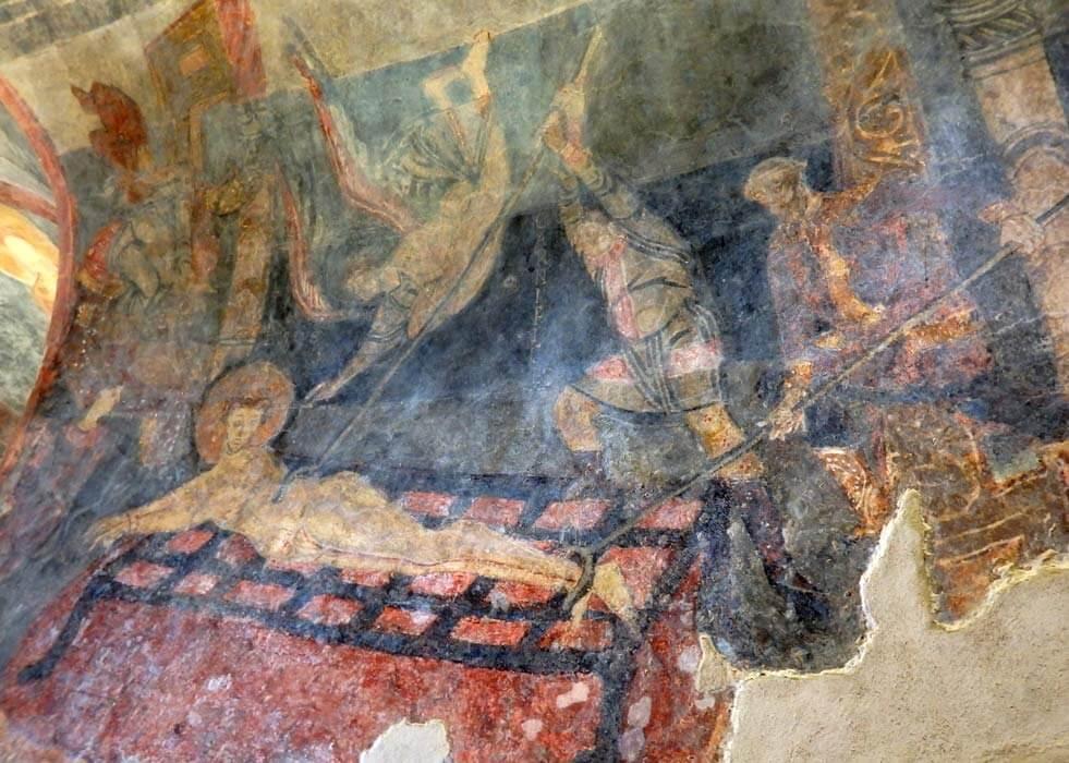 Abbazia di San Vincenzo al Volturno affreschi cripta di Epifanio