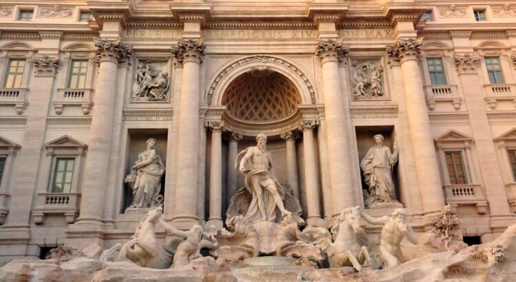fontana di trevi roma trevi fountain rome