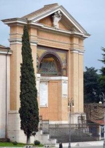 triclinio leoniano mosaici piazza san giovanni roma