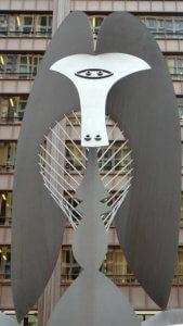 Pablo Picasso Daley Plaza Chicago statue arte pubblica