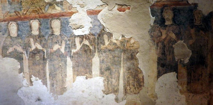 monastero di torba affreschi
