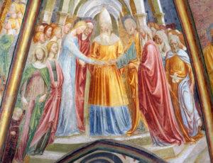 castiglione olona collegiata affreschi masolino da panicale branda castiglioni