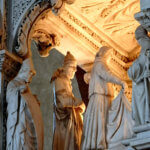 Pavia Arca di Sant'Agostino Morte del Santo chiesa di san pietro in ciel d'oro