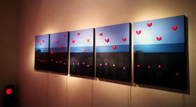 galleria borghini mostra trasparenze pinchi galli