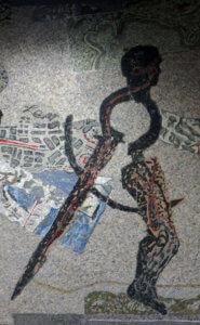 mosaico kentridge stazione toledo napoli