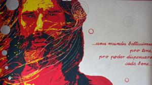 Sanga Music Square Andrea Parodi San Gavino Monreale murales