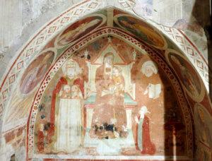 Spoleto Duomo Cappella Sant'Anna Nicchia Destra