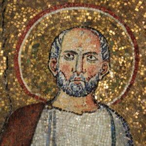 chiesa santo stefano rotondo mosaico santi primo e feliciano