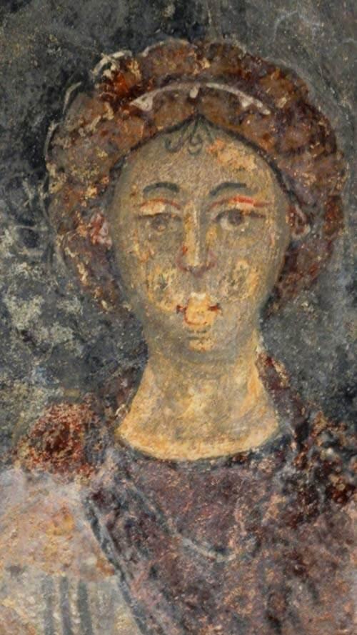 abbazia san vincenzo volturno cripta epifanio affreschi