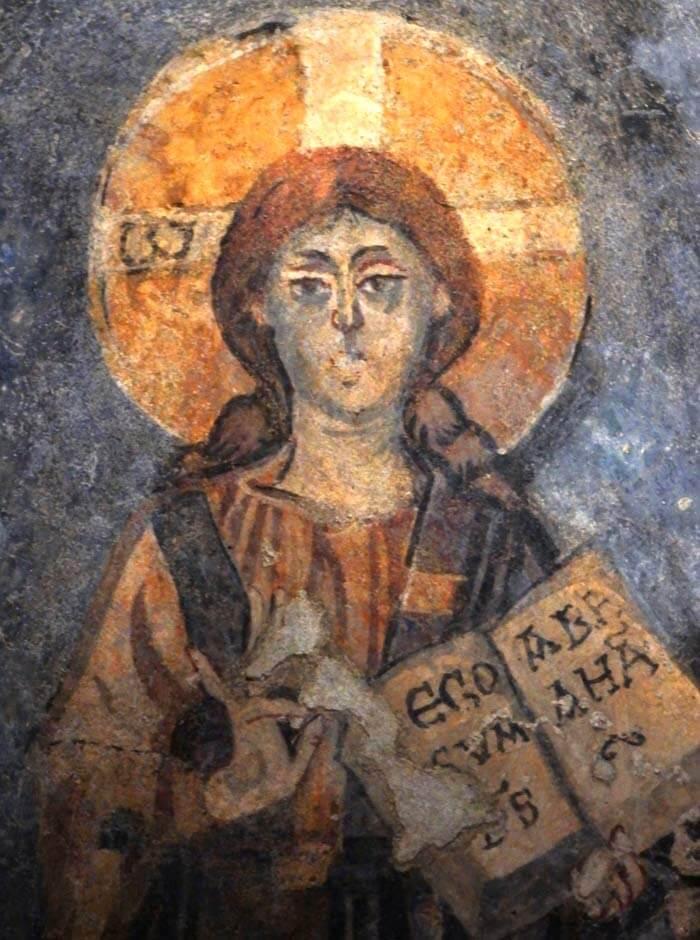 abbazia di san vincenzo al volturno cripta di epifanio affreschi