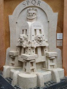 fontana degli artisti via margutta roma pietro lombardi