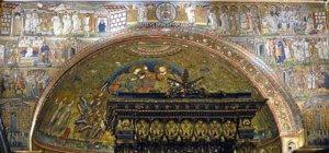 roma basilica santa maria maggiore mosaici arco trionfale