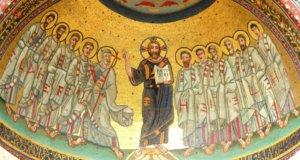nicchione laterano mosaici triclinio leoniano piazza san giovanni roma
