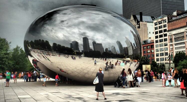 chicago Anish Kapoor Cloud Gate