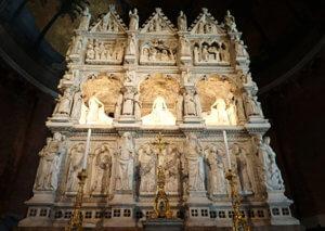 Pavia Arca di Sant'Agostino chiesa di san pietro in ciel d'oro