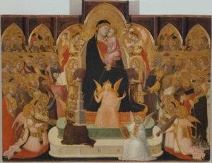 Maestà di Massa Marittima Ambrogio Lorenzetti Mostra Siena