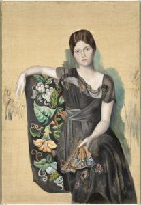 mostra scuderie del quirinale Pablo Picasso Portrait d'Olga dans un fauteuil