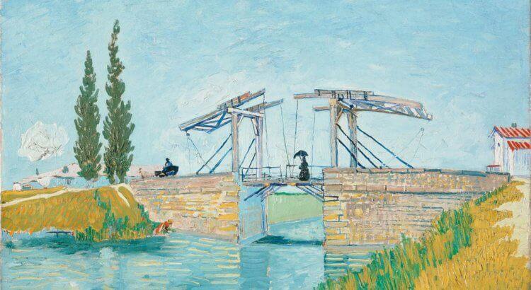 Il Ponte di Langlois Vincent Van Gogh mostra vicenza basilica palladiana