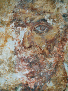 Tempietto del Clitunno Campello Spoleto affreschi
