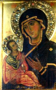 icona madonna odigitria abbazia san nilo grottaferrata