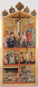 Maestro di Cesi Storie della Passione di Cristo mostra trecento in umbria