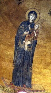torcello mosaici basilica vergine odigitria