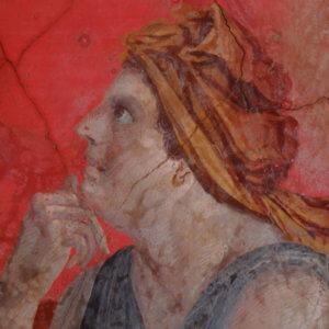 museo archeologico napoli affreschi villa boscoreale corte ellenistica
