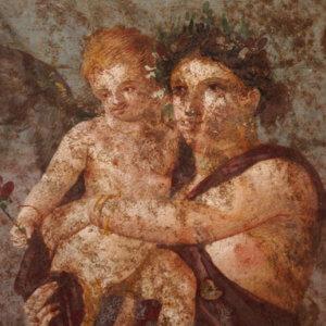 affreschi pompei museo archeologico napoli