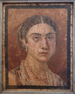 mosaici museo archeologico napoli pompei