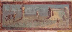 pompei casa del principe di napoli affreschi
