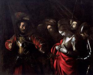 caravaggio martirio sant'orsola napoli