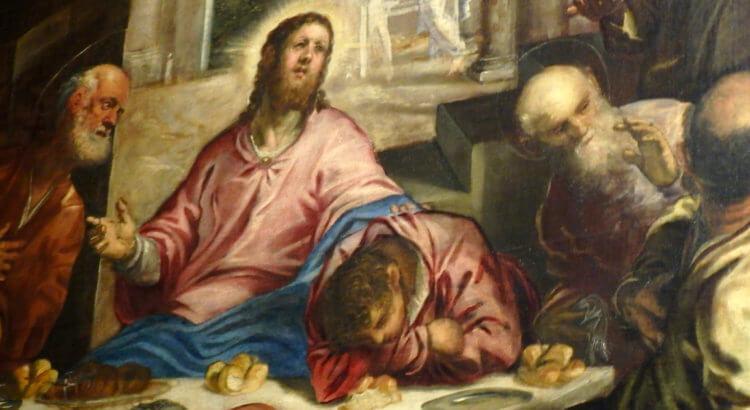 Tintoretto Ultima Cena San Trovaso Venezia