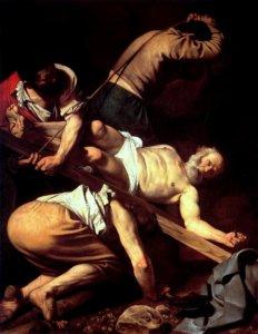caravaggio crocifissione di san pietro