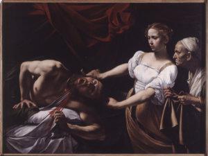 caravaggio giuditta e oloferna galleria arte antica palazzo barberini