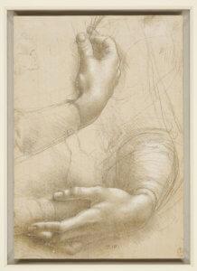 Leonardo da Vinci Braccia e mani femminili