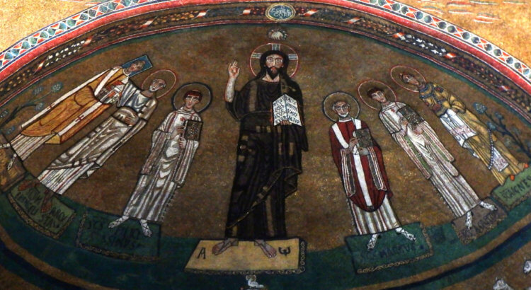 mosaici basilica san marco roma