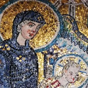 roma santa maria in cosmedin mosaico adorazione dei magi