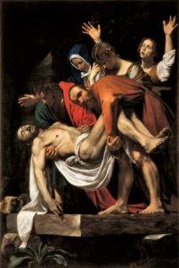caravaggio deposizione musei vaticani