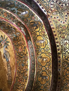 mosaici sala re ruggero palazzo normanni palermo