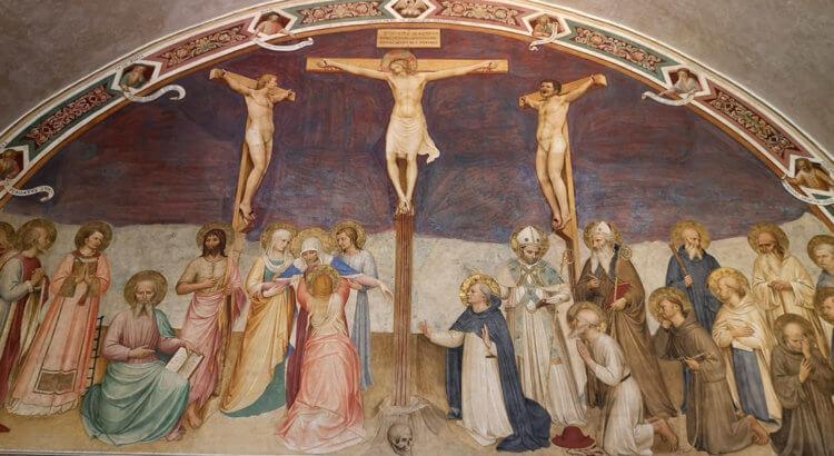 beato angelico crocifissione san marco