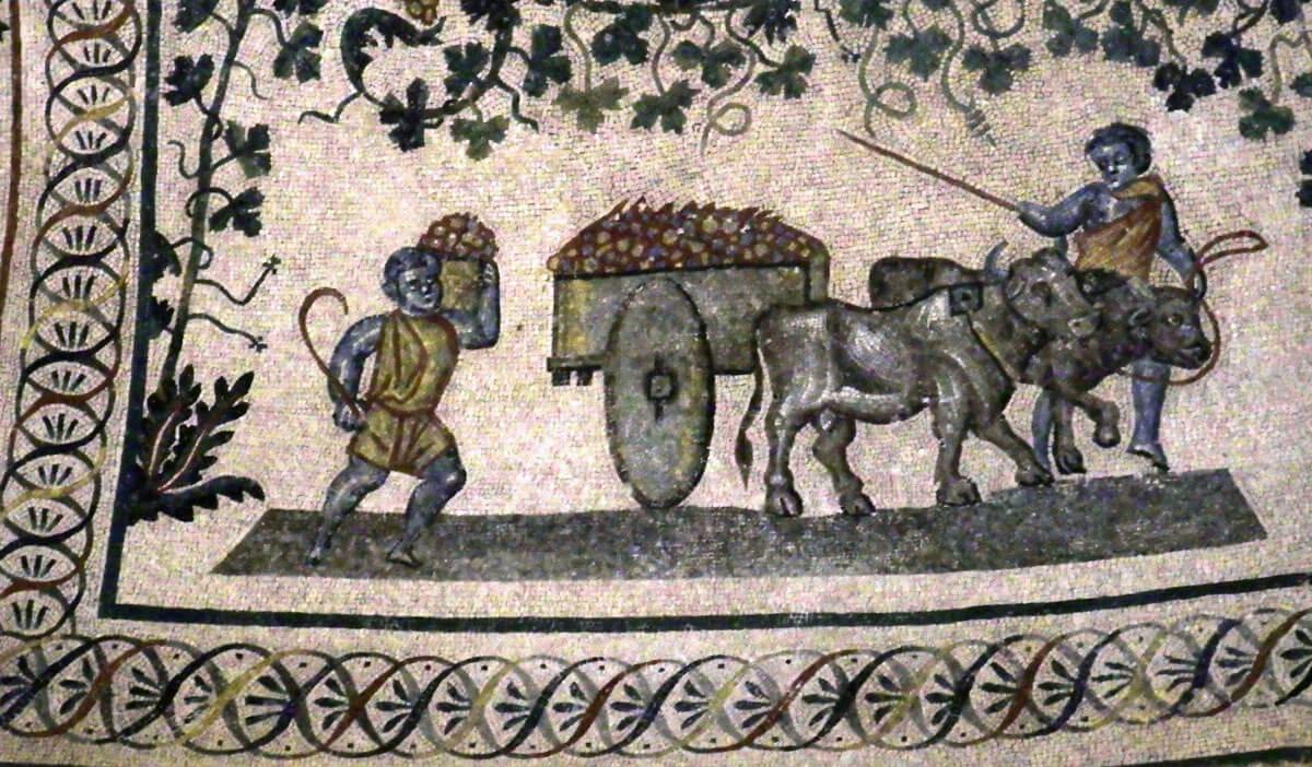 mausoleo santa costanza mosaici