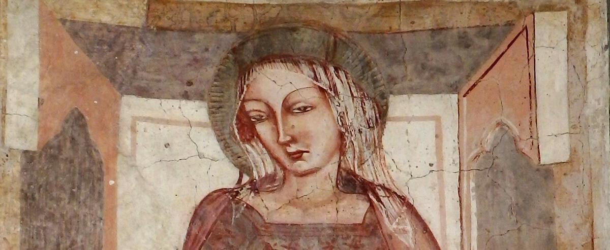affreschi chiesa stazzano vecchia