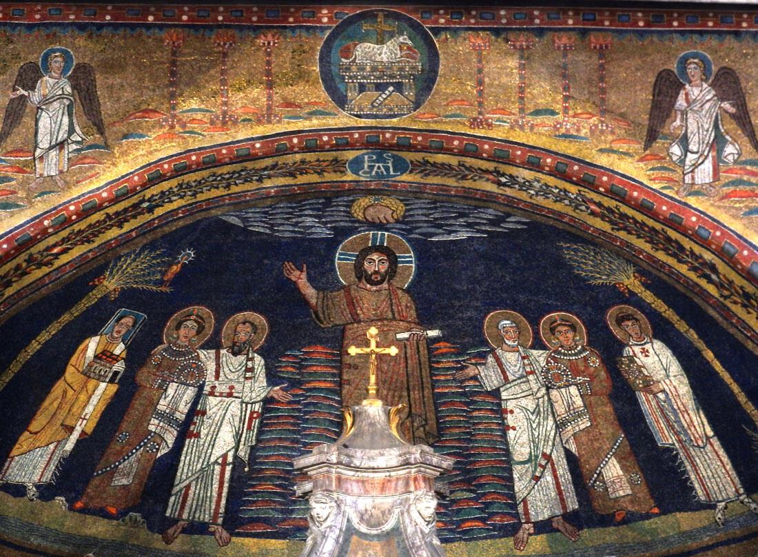 mosaici santa prassede roma