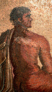 mosaico oreste e ifigenia musei capitolini roma