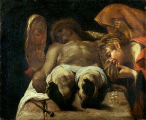 Orazio Borgianni Compianto sul Cristo Morto